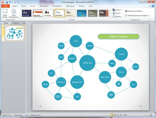 Bubble Diagram Templates for PowerPoint