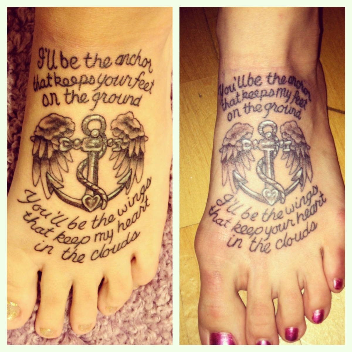 Tattoo Quotes For Sisters: 1000+ Ideas About Sister Anchor Tattoos On Pinterest