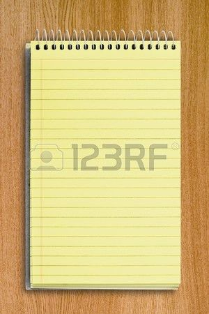 Notebook Paper Stock Photos. Royalty Free Notebook Paper Images ...