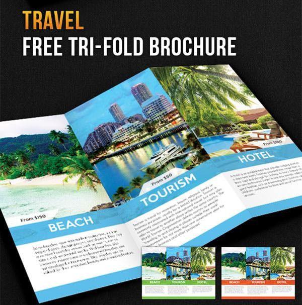 Free PSD Travel Brochure Design Templates | | FreeCreatives