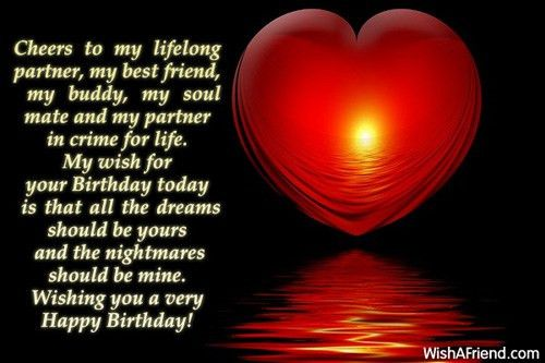 Birthday Wishes For Husband
