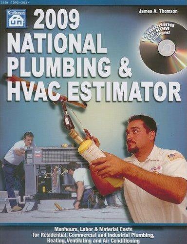 9781572182141: National Plumbing & HVAC Estimator [With CDROM ...