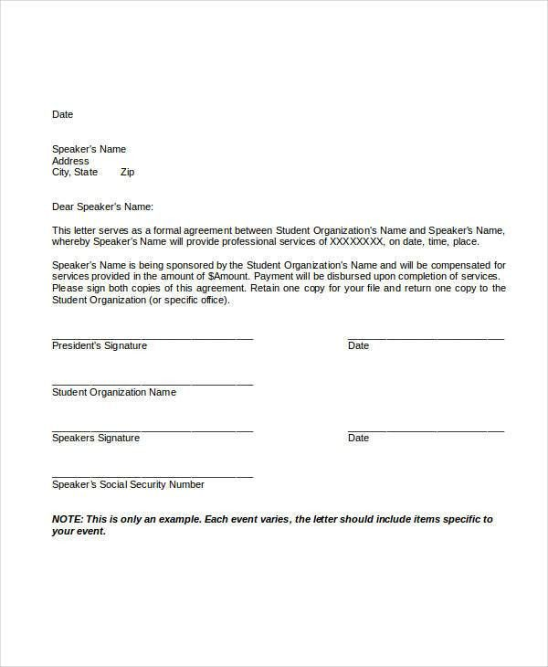 Service Letter Templates - 7+ Free Sample, Example Format Download ...