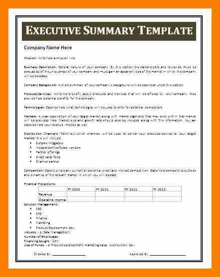 7+ business summary template | janitor resume
