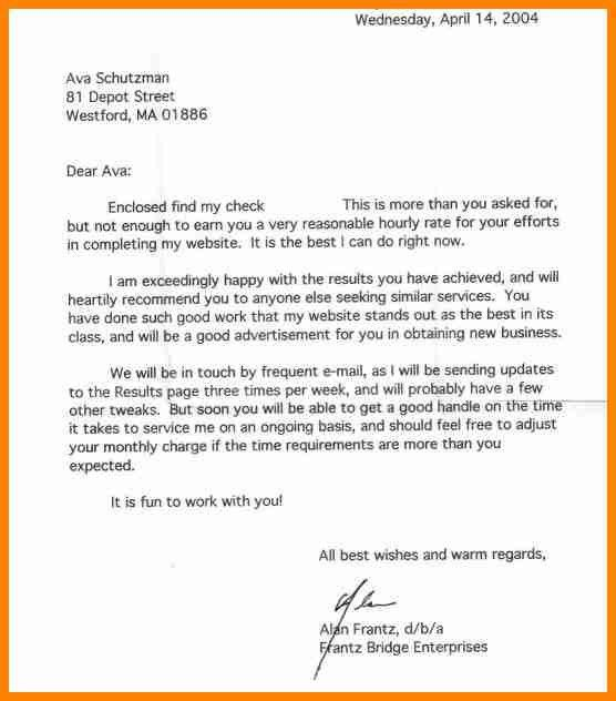 Business Recommendation Letter Sample. Free Business Reference ...