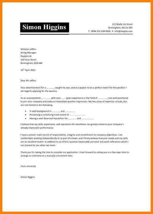 5+ cover letter layout | latest cv format