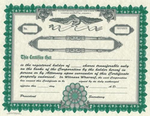 Blank Certificate: Business & Industrial | eBay