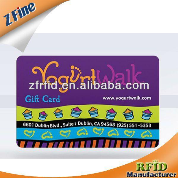 Smart Card/id Card/plastic Card/sample Membership Card - Buy Ic/id ...