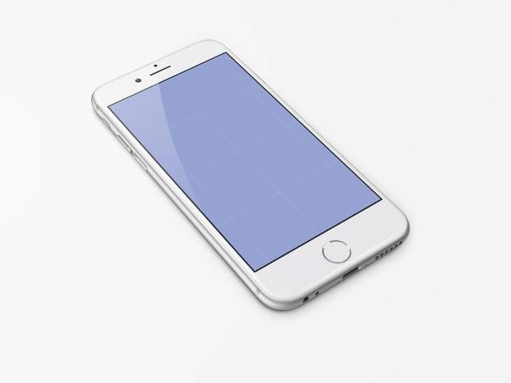 31 High Quality and Free Realistic iPhone 6 PSD Mockups