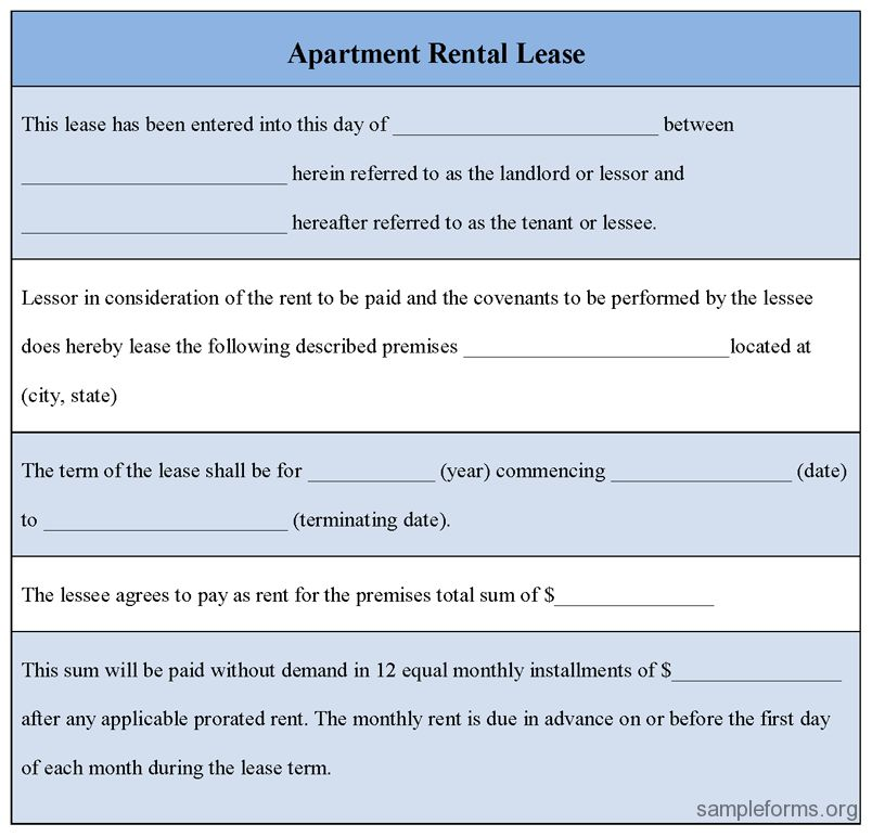 10 Best Images of Room Rental Agreement Application - Free ...