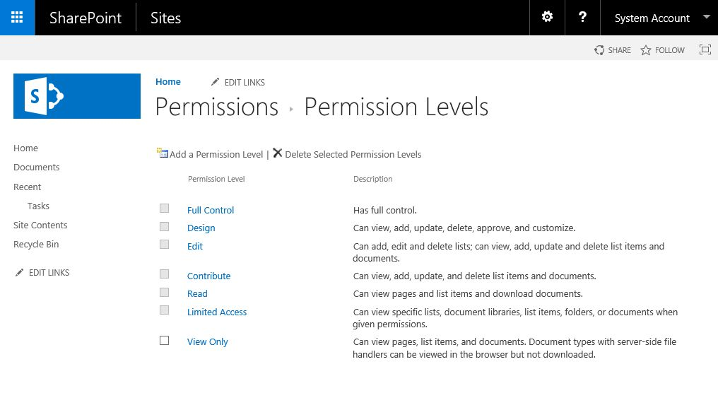 SharePoint 2016 Permissions Guide - Lightning Tools