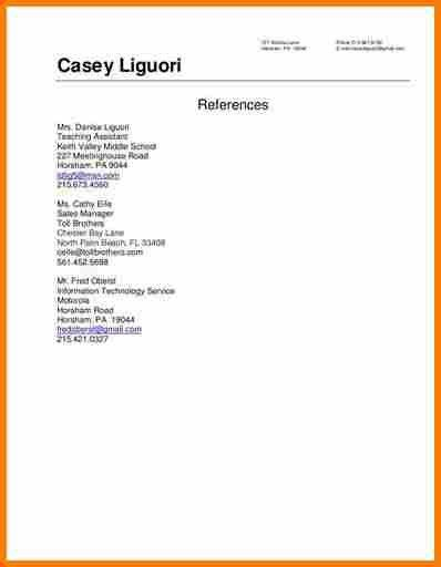 resume reference | resume reference