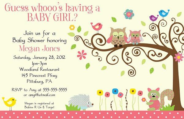 Baby Shower Online Invitation Templates Free - Themesflip.Com