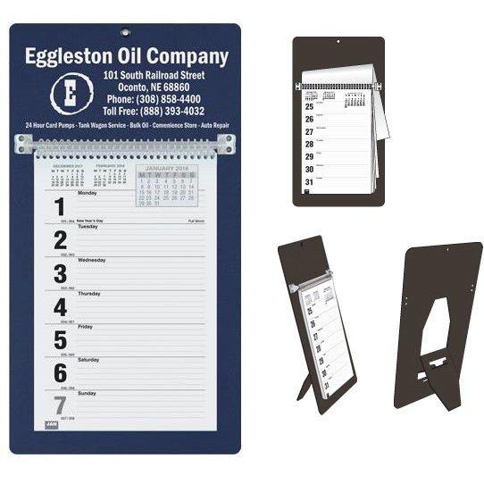 Custom Memo Calendars | Corporate Memo Calendars | Weekly Memo ...