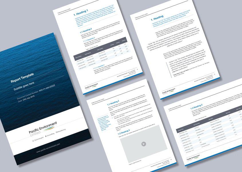 Environmental consultancy proposal Word template - Cordestra