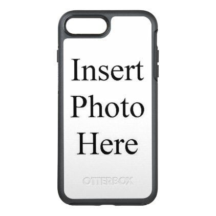 template - #Design Your Own Custom Photo OtterBox Symmetry iPhone ...