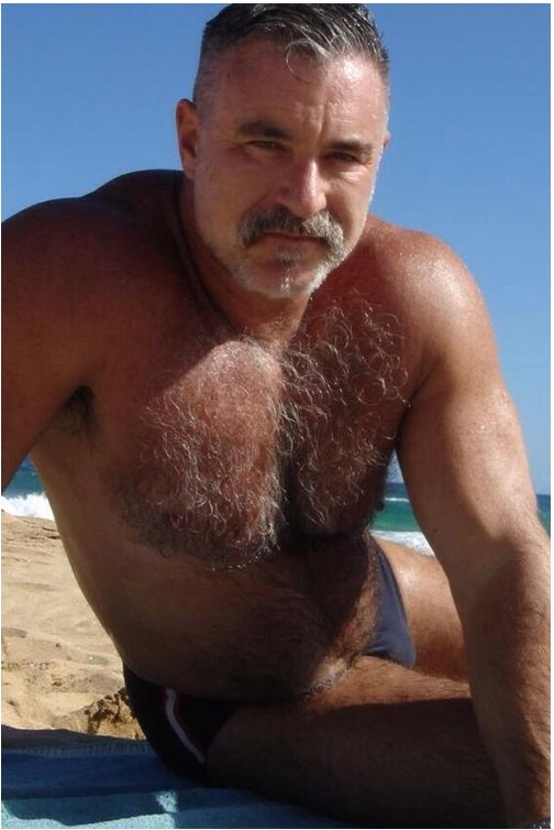 Muscle hairy male naked dick about