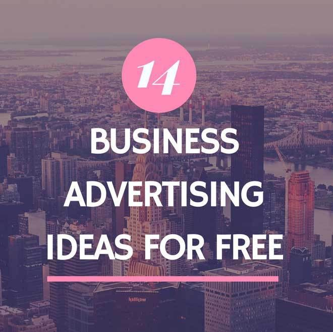 14 Business Advertising Ideas for Free - The 5 Disciplines of ...