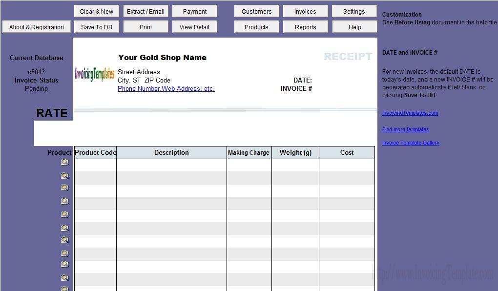 Receipt Template for Gold Shop (4)