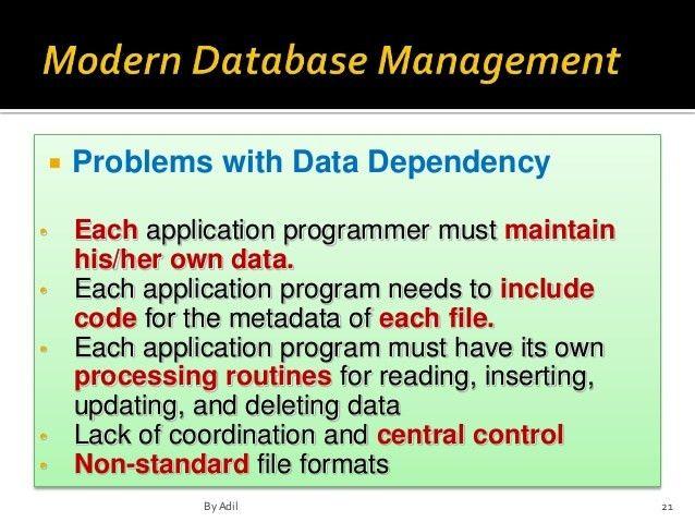 chapter 1 in Modern Database Management