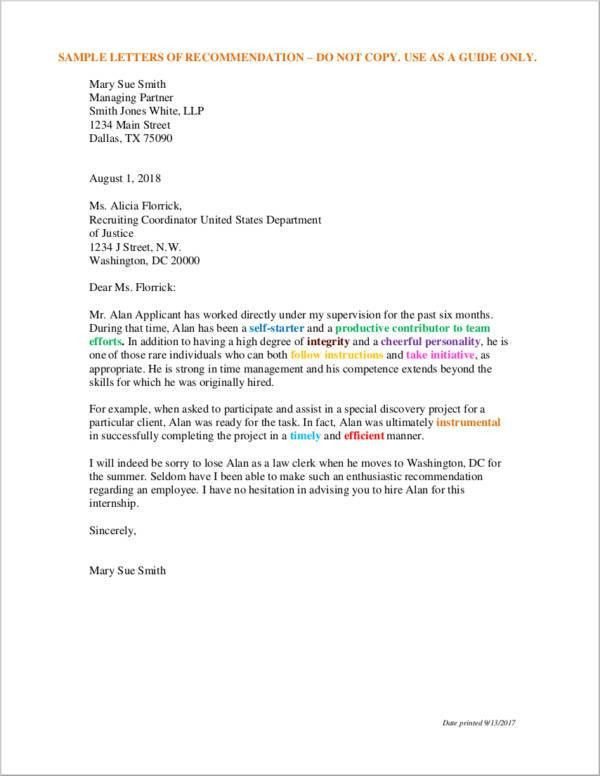 13+ Recommendation Letter for Employee - Free Samples, Examples ...