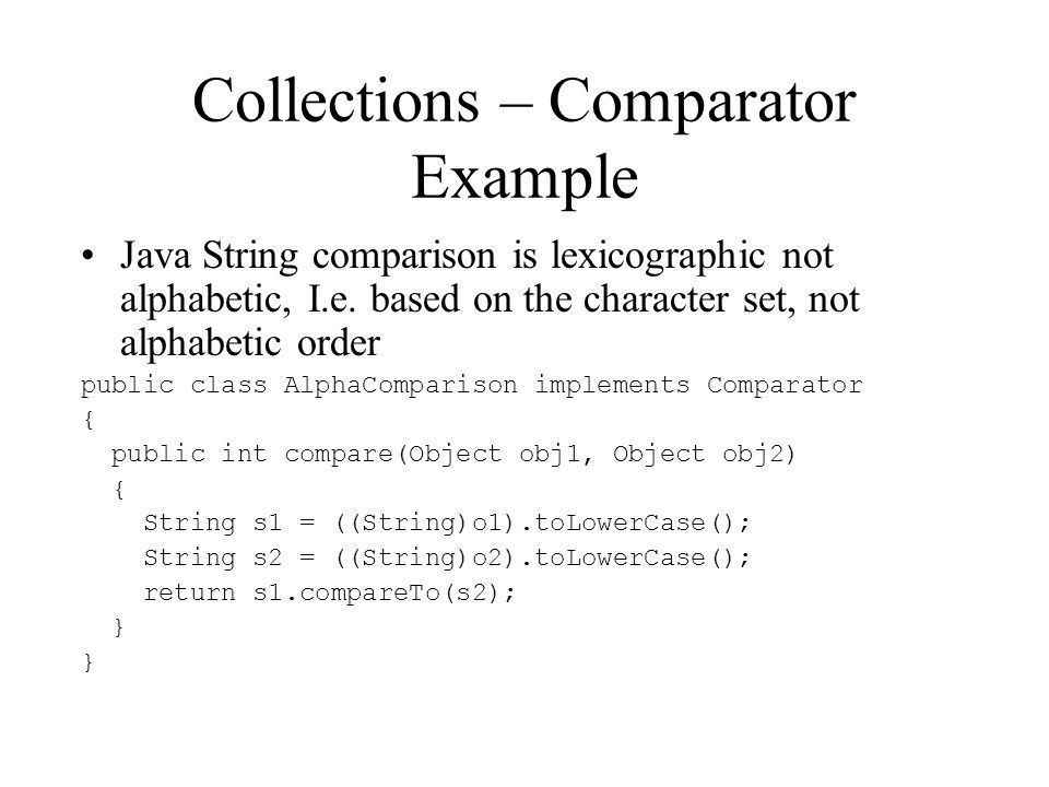 Introduction to Java Collection. Java Collections What are they ...