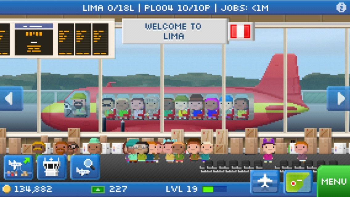 Pocket Planes - Free Airline Management Game | Apps | 148Apps