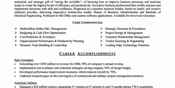 Mechanical Engineering Resume Sample Aerospace Engineering Resume ...