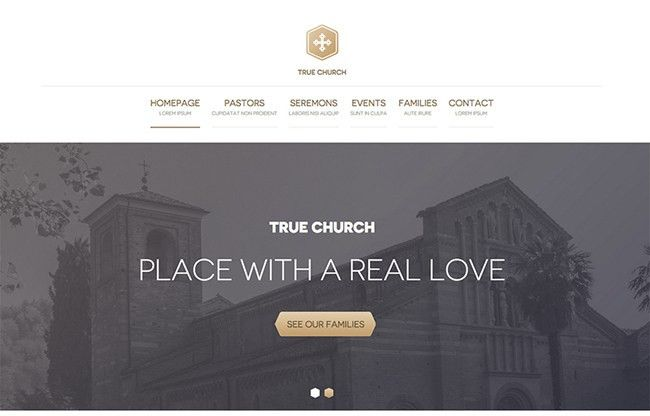 40 Beautiful Church Website Designs