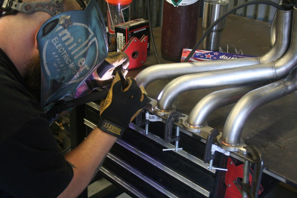 The Art of Fabricating Headers. |
