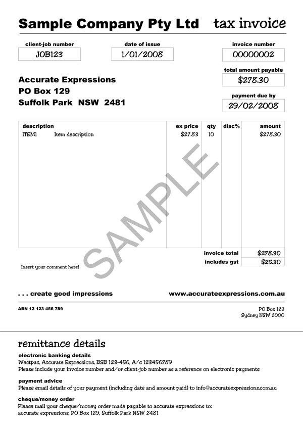 Tax Invoices. Tax Invoice Statement Template | Rabitah,Simple ...