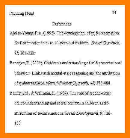 4+ bibliography example format | protect letters