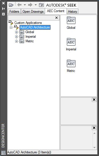 About AEC Content | AutoCAD Architecture | Autodesk Knowledge Network