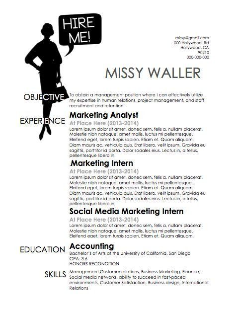 34 best OUR RESUMES images on Pinterest | Cover letters, Resume ...