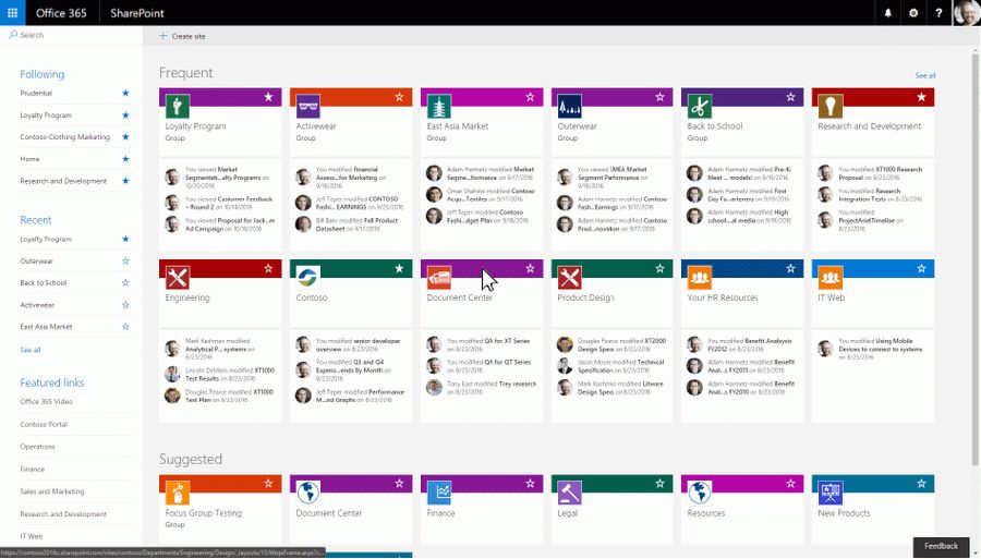 Create connected SharePoint Online team sites in seconds - Office ...