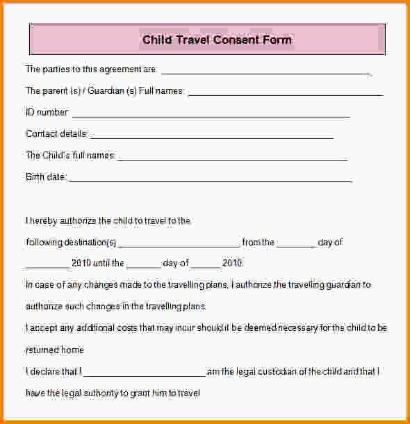 Travel Consent Form.Child Travel Consent Form.jpg - LetterHead ...