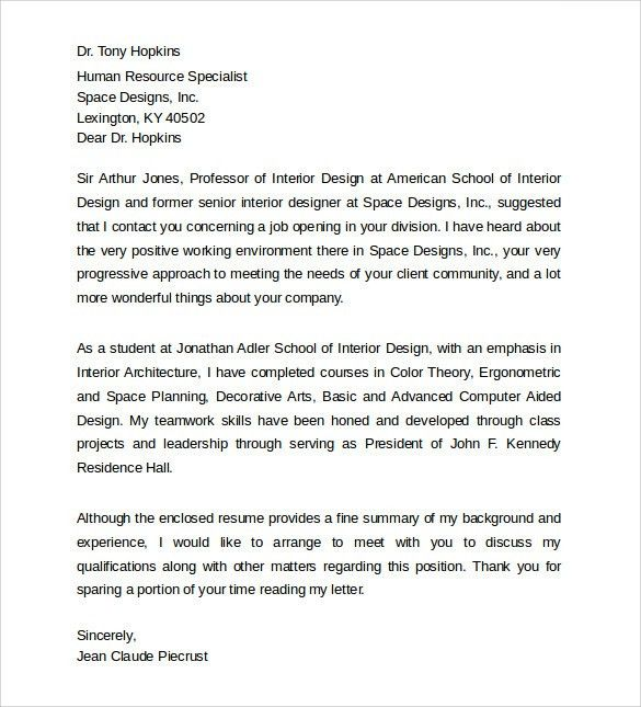 Download Interior Designer Cover Letter | haadyaooverbayresort.com