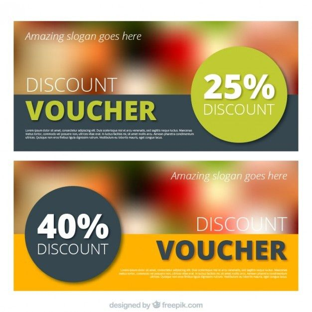 Modern discount banner Vector | Free Download