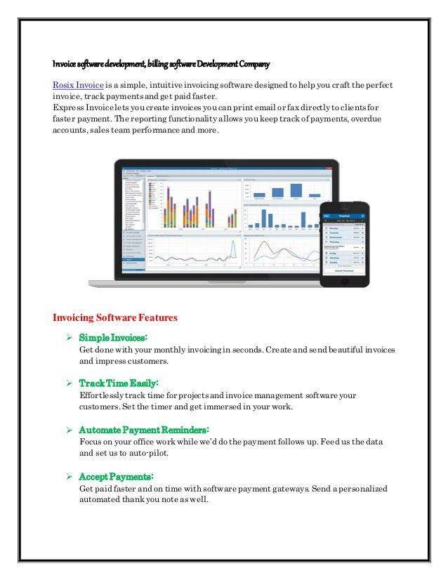 Invoice software development, billing software development company