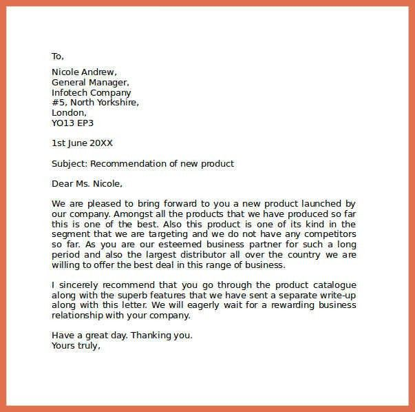 Sample Professional Letter Format Example. Cover Letter Examples ...