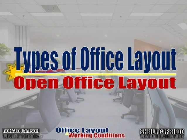 Office layouts and working conditions