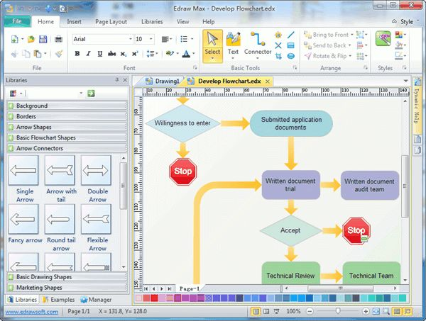 Flowchart Software - Create Flowchart Quickly and Easily
