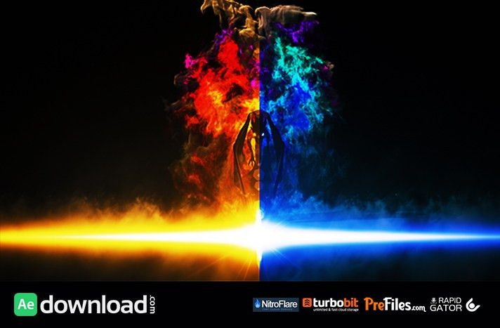 VIDEOHIVE DRAGON FIRE LOGO REVEAL - (FREE TEMPLATE) - Free After ...