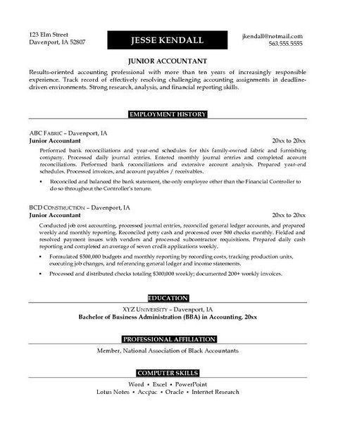 Top 25+ best Examples of resume objectives ideas on Pinterest ...