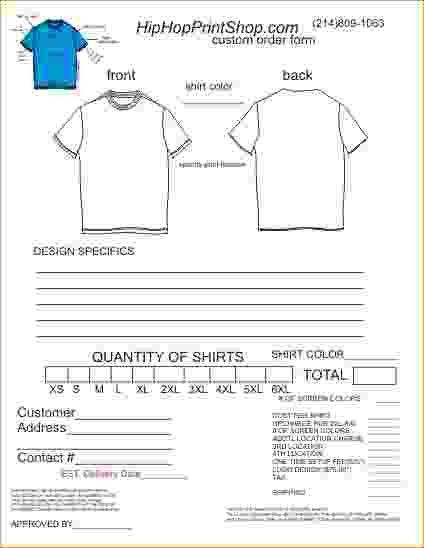 T Shirt Order Forms Template Free.order Form TEMPLATE.jpg - Pay ...