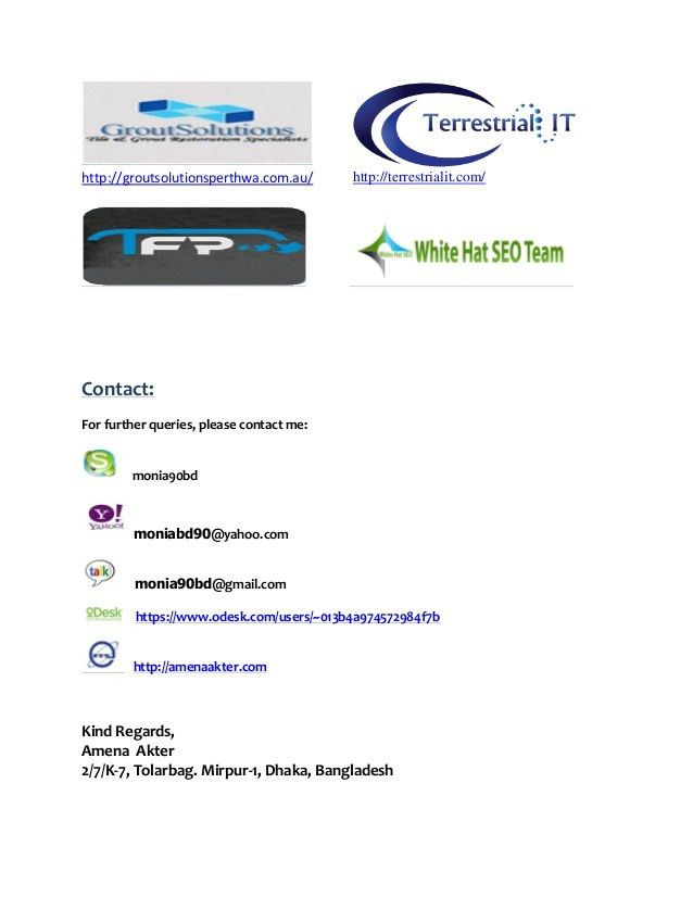example seo proposal for client..