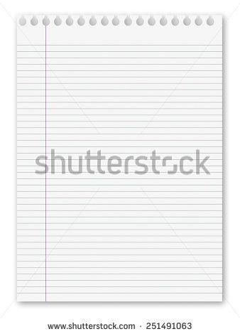 Lined Paper Background Stock Images, Royalty-Free Images & Vectors ...