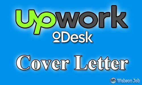 Upwork Cover Letter Samples, Examples and Format