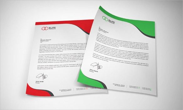 Free Microsoft Word Letterhead Templates Free Letterhead Template – Free Business Stationery Templates for Word