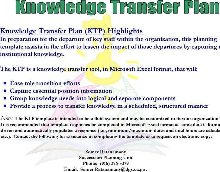 Transition Plan Template | Download Free & Premium Templates ...